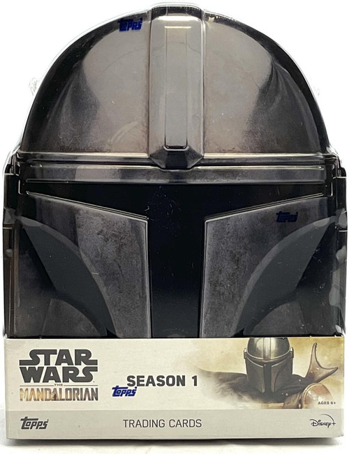 Star Wars The Mandalorian Season 1 Trading Card HOBBY Tin [10 Packs]