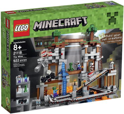 LEGO Minecraft The Mine Set #21118 [Damaged Package]
