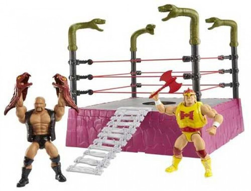 WWE Wrestling Masters of the WWE Universe Rattlesnake Mountain Bundle (Pre-Order ships April)