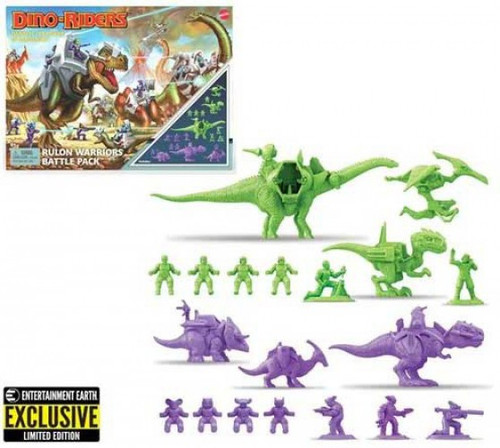 Dino-Riders Rulan Warriors Exclusive