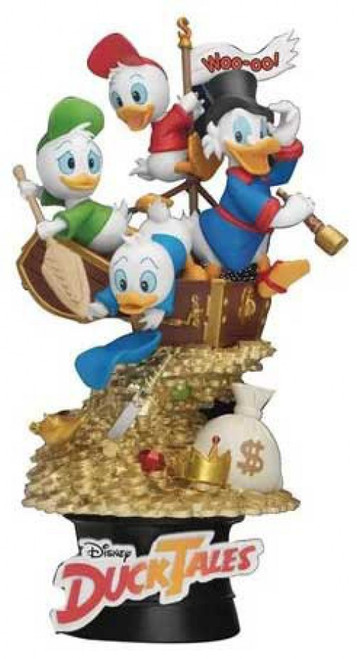Disney D-Stage Classic Ducktales 6-Inch Diorama Statue DS-061 (Pre-Order ships January)