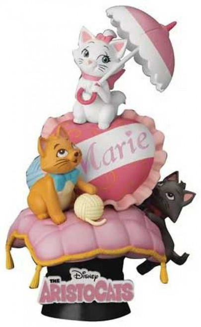 Disney D-Stage Classic Aristocats Marie 6-Inch Diorama Statue DS-058 (Pre-Order ships August)