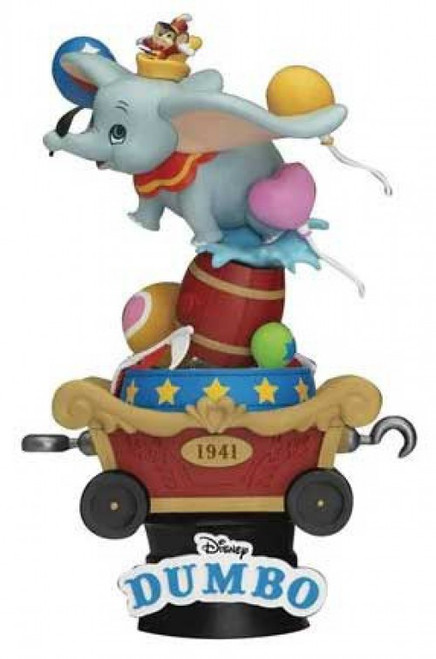 Disney D-Stage Classic Dumbo 6-Inch Diorama Statue DS-060 (Pre-Order ships August)