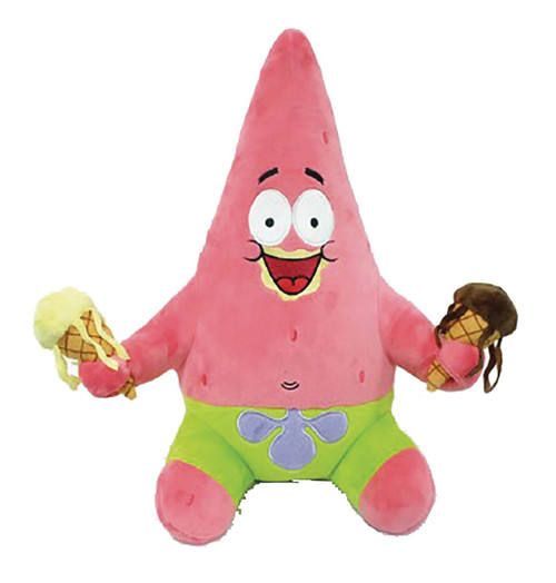 Nickelodeon Spongebob Squarepants Phunny Patrick Star 16-Inch Plush [HugMe, Vibrates!]