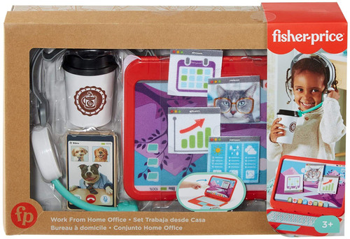 Fisher Price Work From Home Office Playset