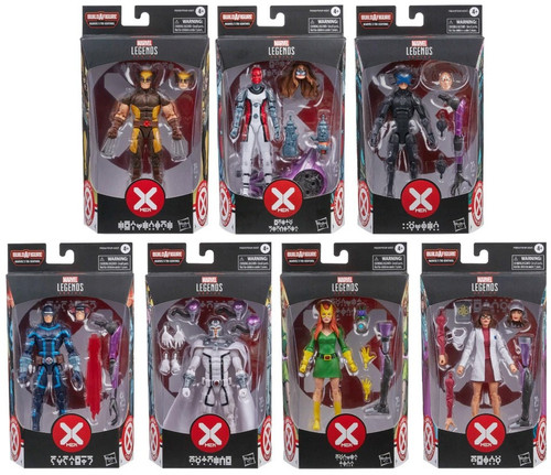 X-Men Marvel Legends Tri-Sentinel Series Marvel Legends Tri-Centinel Series Set of 7 Action Figures (Pre-Order ships March)