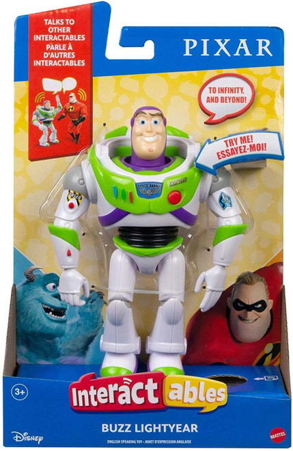 Disney / Pixar Toy Story 4 Interactables Buzz Lightyear Action Figure