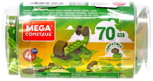 Mega Construx Wonder Builders 70 Piece Tube [Green]