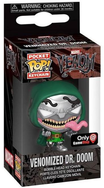 Funko POP! Marvel Venomized Dr. Doom Exclusive Keychain