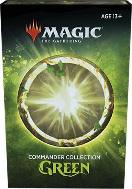 MtG Trading Card Game Green Commander Collection
