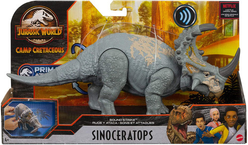 Jurassic World Camp Cretaceous Sinoceratops Action Figure [Sound Strike, Damaged Package]