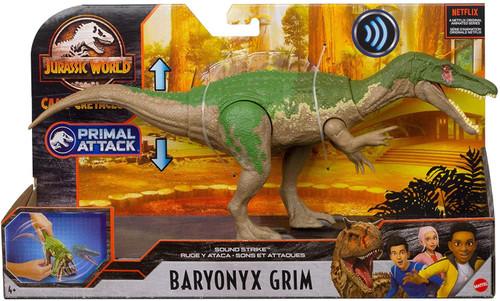 Jurassic World Camp Cretaceous Baryonyx Grim Action Figure [Sound Strike]