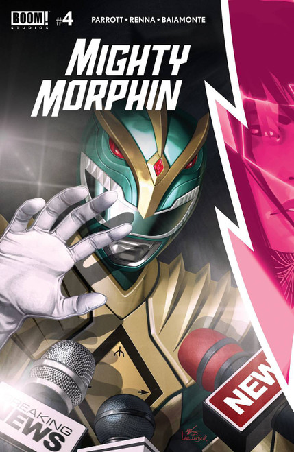 Boom Studios Mighty Morphin #4 Comic Book [Cover A Main] (Pre-Order ships February)
