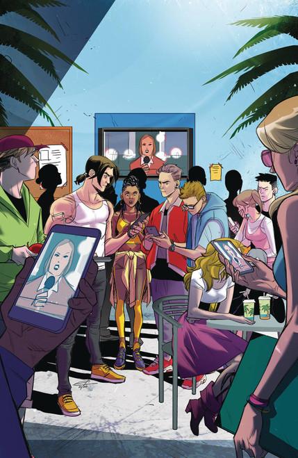 Boom Studios Mighty Morphin #4 Comic Book [Cover B Carlini]