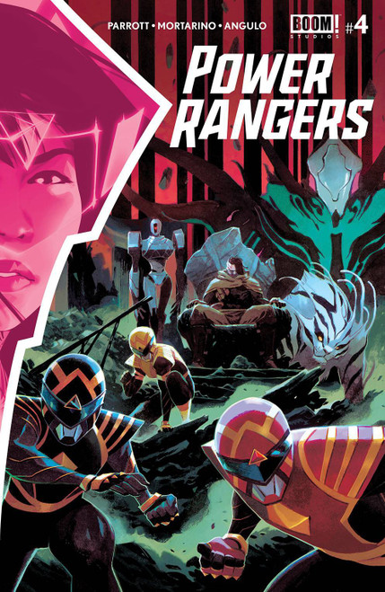 Boom Studios Power Rangers #4 Comic Book [Cover A Main] (Pre-Order ships February)