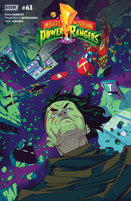 Boom Studios Power Rangers #4 Comic Book [Cover B Legacy Di Nicuolo]