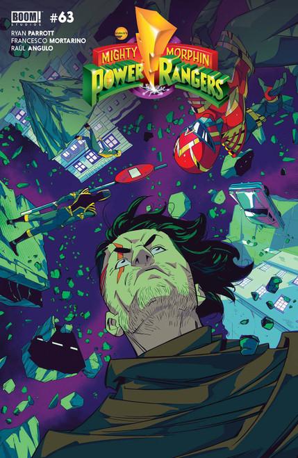Boom Studios Power Rangers #4 Comic Book [Cover B Legacy Di Nicuolo] (Pre-Order ships February)