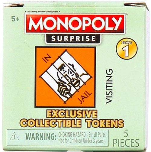 Monopoly Exclusive Collectible Token Mystery Pack [Find Super & Ultra Rare Game Tokens!]