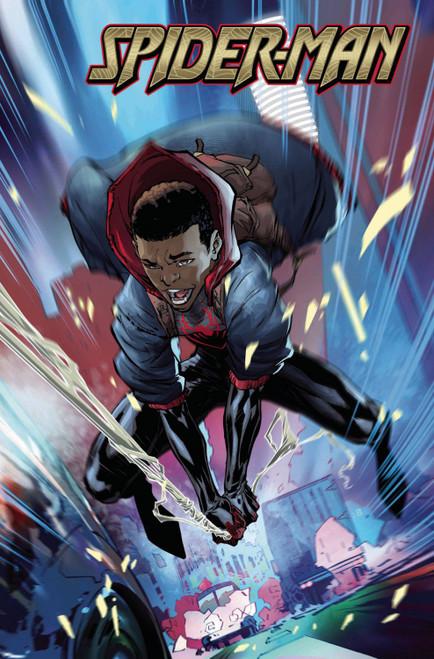 Marvel Spider-Man #1 Annual Comic Book [Benjamin Variant Cover]