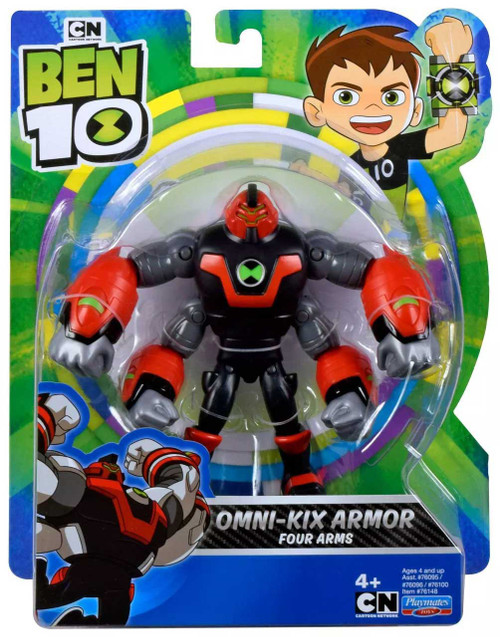 Ben 10 Omni-Kix Armor Four Arms Action Figure