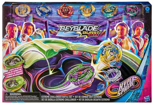 Beyblade Burst Rise Hypersphere Extreme Challenger Exclusive Battle Set