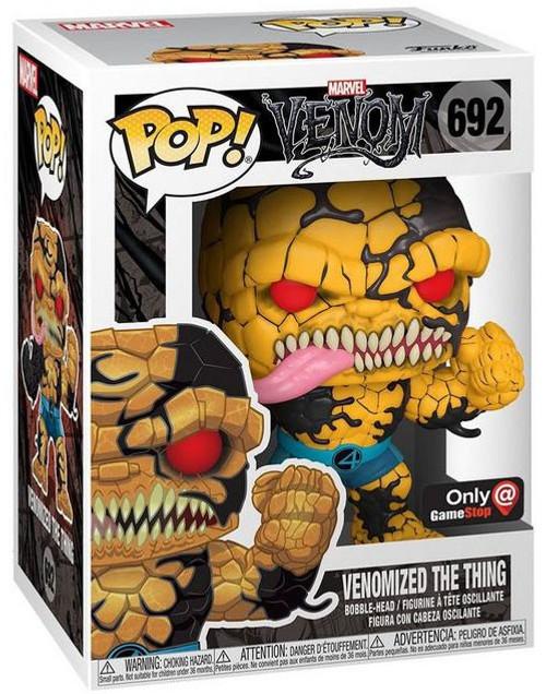 Funko POP! Marvel Venomized The Thing Exclusive Vinyl Figure #692