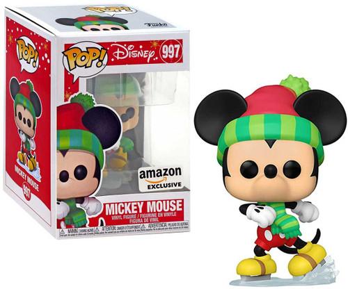 Funko POP! Disney Holiday Mickey Exclusive Vinyl Figure [2020, Holiday Collector Box]
