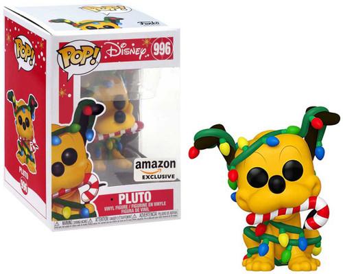 Funko POP! Disney Holiday Pluto Exclusive Vinyl Figure #996 [Holiday Collector Box]