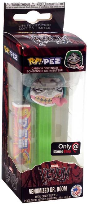 Funko Marvel POP! PEZ Venomized Dr. Doom Exclusive Candy Dispenser [Green]