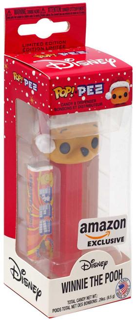 Funko Disney POP! PEZ Winnie the Pooh Exclusive Candy Dispenser [Santa Hat, Holiday Collector Box]