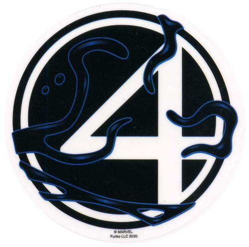 Funko Marvel Venomized Fantastic 4 Logo Exclusive 3-Inch Sticker