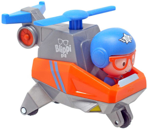 Blippi Helicopter Mini Vehicle