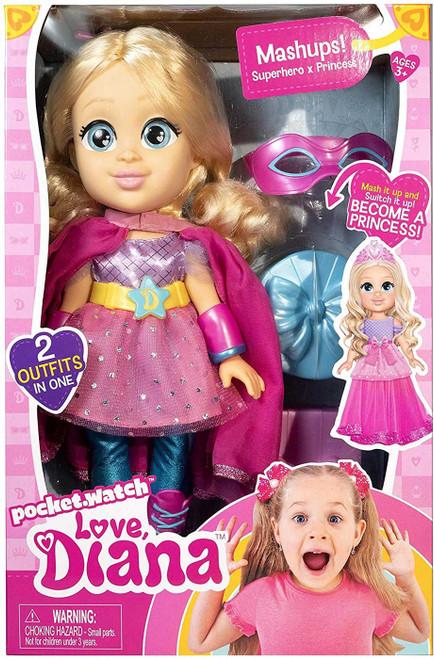 Love, Diana Mashups! Superhero x Princess 13-Inch Doll