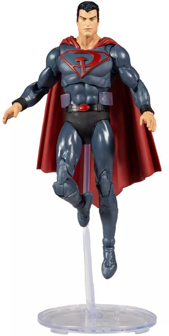 McFarlane Toys DC Multiverse Superman Action Figure [Red Son]