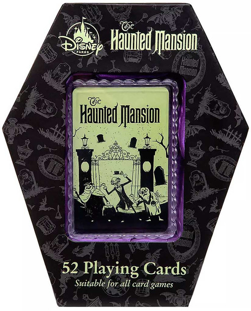 Disney The Haunted Mansion Exclusive Playing Cards