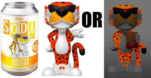 Funko Cheetos Vinyl Soda Chester Cheetah Limited Edition of 12,500! Vinyl Figure [1 RANDOM Figure Look For The Chase!]