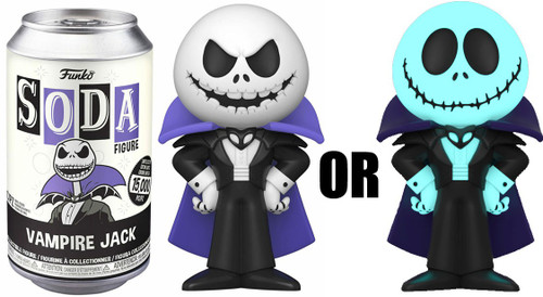 Funko The Nightmare Before Christmas Vinyl Soda Vampire Jack Limited Edition of 15,000! Vinyl Figure [1 RANDOM Figure Look For The Chase!]
