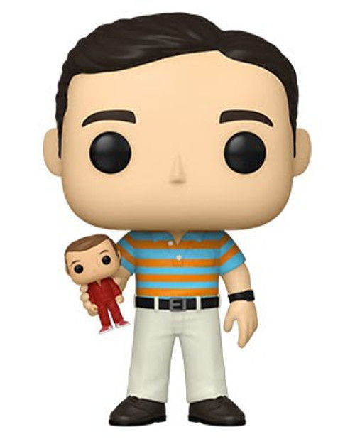 Funko The 40-Year Old Virgin POP! Movies Andy Vinyl Figure [Holding Oscar, Chase Version] (Pre-Order ships February)