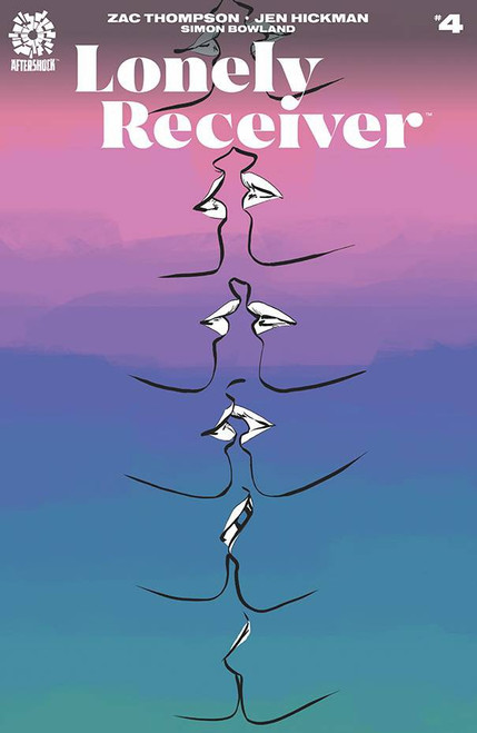 Aftershock Comics Lonely Receiver #4 Comic Book