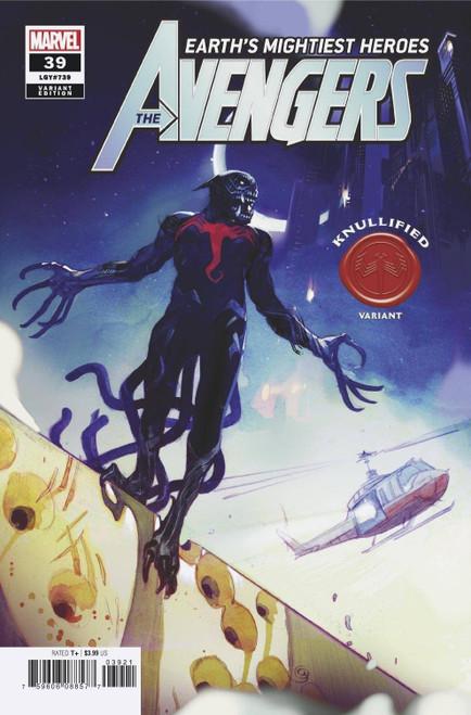 Marvel Comics Avengers #39 Comic Book [Knullified Variant]