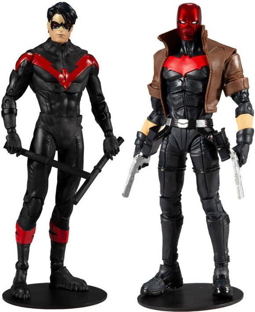 McFarlane Toys DC Multiverse Nightwing & Red Hood Action Figure 2-Pack