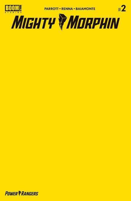 Boom Studios Mighty Morphin #2 Comic Book [Blank Yellow Variant]