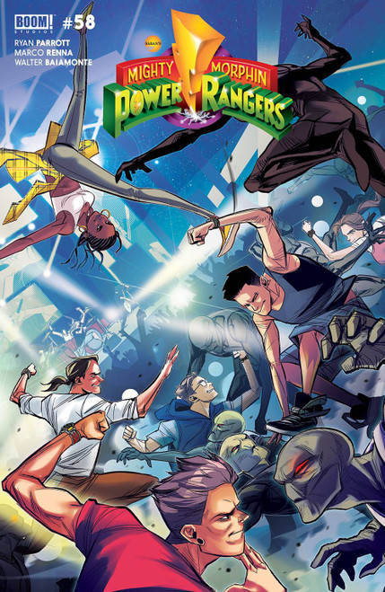 Boom Studios Mighty Morphin #2 Comic Book [Cover B Carlini Legacy]