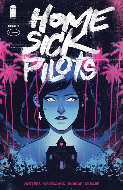 Image Comics Home Sick Pilots #1 Comic Book