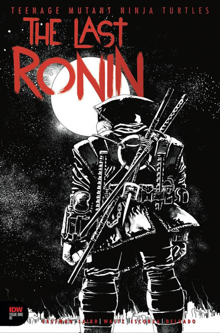 IDW Teenage Mutant Ninja Turtles #1 of 5 Last Ronin Comic Book [Thank You Variant, Foil Titles]
