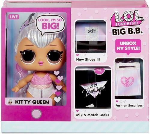 LOL Surprise Big B.B. (Big Baby) Kitty Queen Fashion Doll