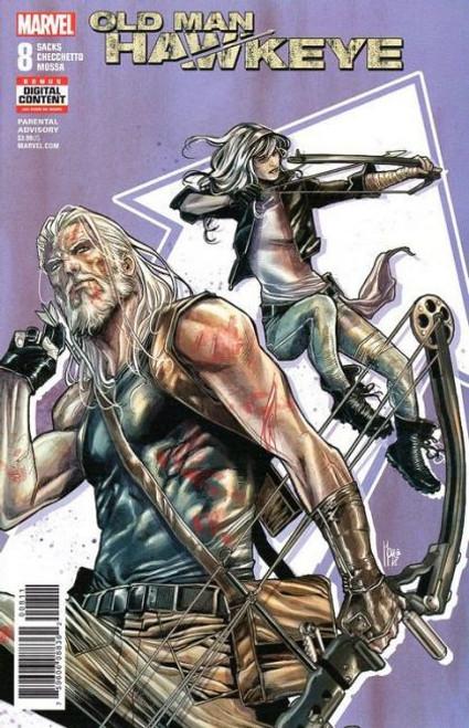 Marvel Old Man Hawkeye #8 Comic Book