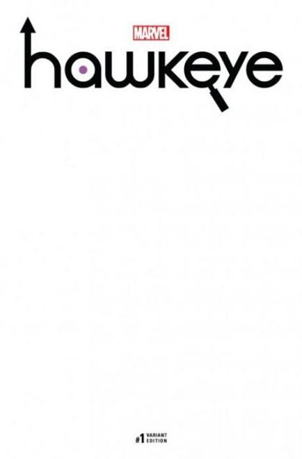 Marvel Hawkeye, Vol. 5 #1F Comic Book [Blank Variant]