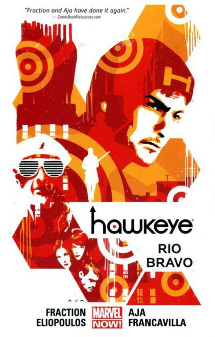 Marvel Hawkeye Rio Bravo Trade Paperback #4