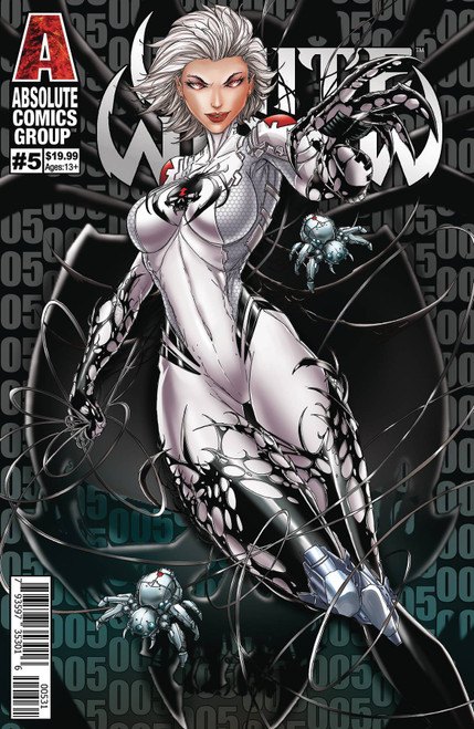 Absolute Comics Group White Widow #5 Comic Book [Cover C Tyndall Wraparound Lenticular]